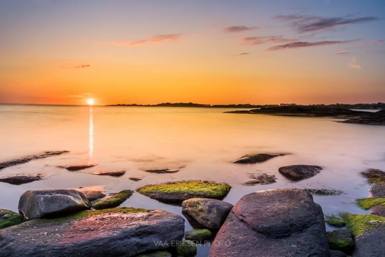 Sunset Fjord Ocean Norway