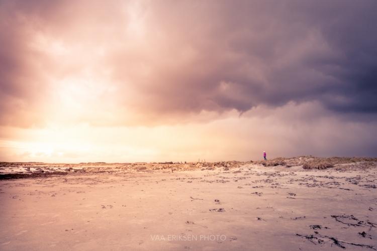 Jæren Rogaland Dramatic Clouds